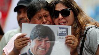Eva Morales Bolivya'dan ayrılılıp Meksika'ya iltica etti
