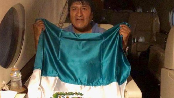 Πολιτικό άσυλο στο Μεξικό έλαβε ο Έβο Μοράλες