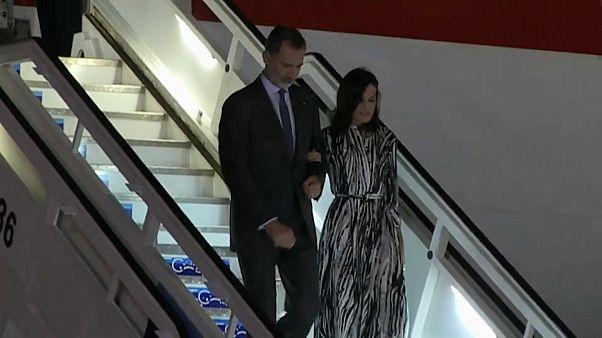 Los reyes Felipe y Letizia llegan a Cuba para una visita histórica