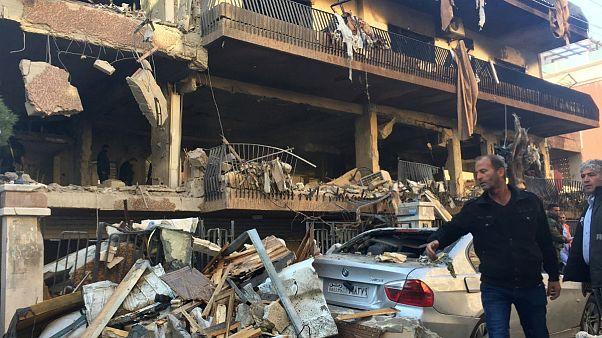 حمله به غرب شهر دمشق