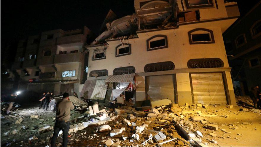 مرگ فرمانده بلندپایه جهاد اسلامی در غزه در پی حمله موشکی اسرائیل