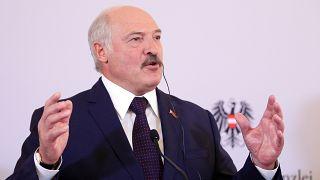 Bécsbe érkezett a fehérorosz elnök