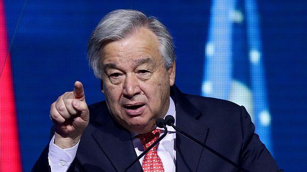 Guterres: BM Güvenlik Konseyi işlevsiz olduğu için krizlere çözüm üretemiyoruz