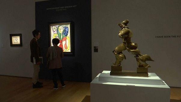 Christie's: asta record per la scultura del futurista Boccioni