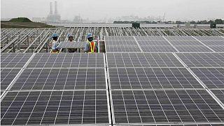 نیروگاههای خورشیدی و بادی بر ویرانههای نیروگاه هستهای فوکوشیما سر بر میآورند