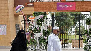 suudi Arabistan'ın başkenti Riyad'da bulunan Kral Abdullah Parkı