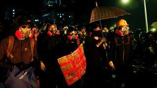 Nouvelle nuit de violences à Hong Kong