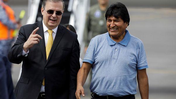 Mexikóban a volt bolíviai elnök