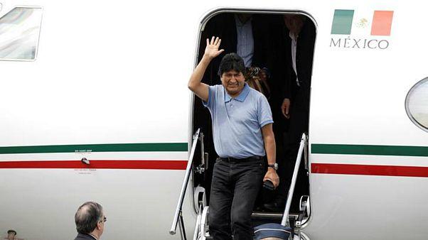 اوو مورالس در بدو ورود به مکزیک: در بولیوی علیه من کودتا شد