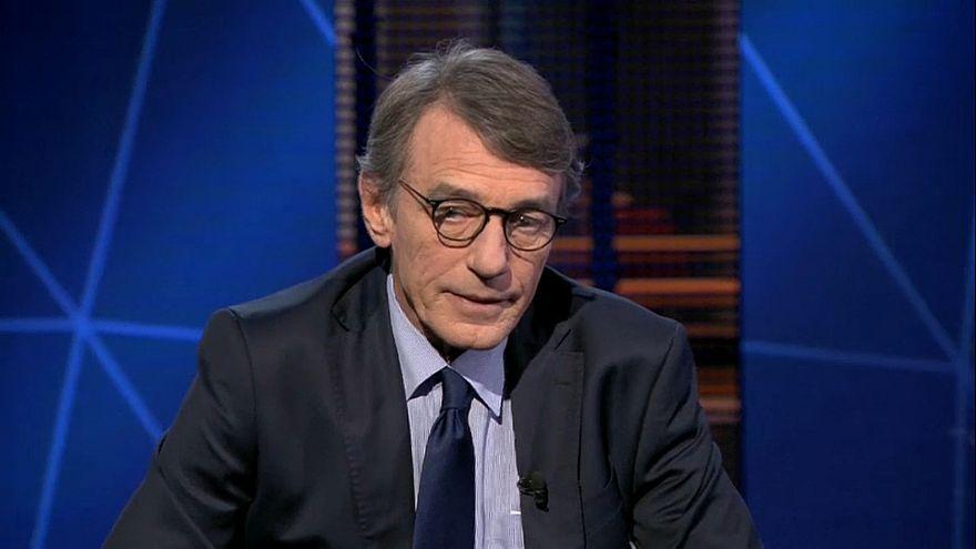 David Sassoli: NATO still 'necessary' amid Macron criticism it is 'brain dead'