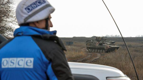 Разведение войск в районе Петровского