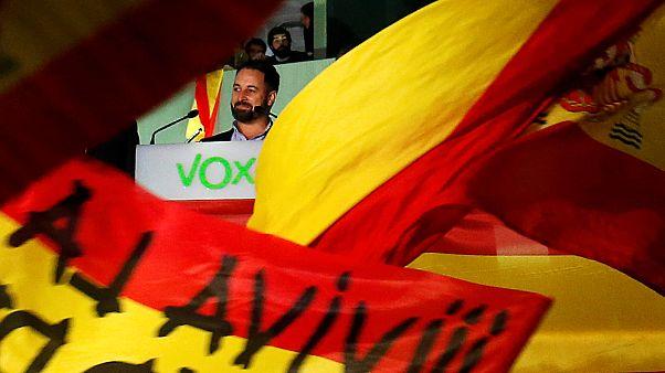 Il leader di Vox Santiago Abascal