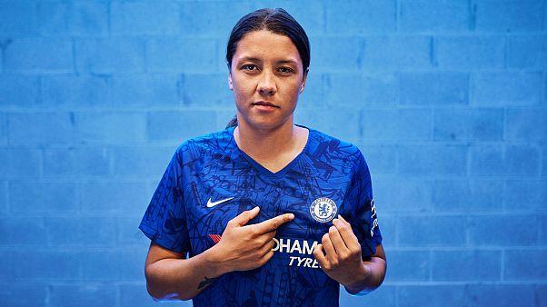 """Colpo grosso del Chelsea: arriva la """"star"""" Samantha Kerr"""
