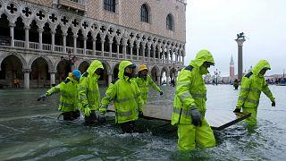 Tutte le foto di Venezia sommersa dall'acqua