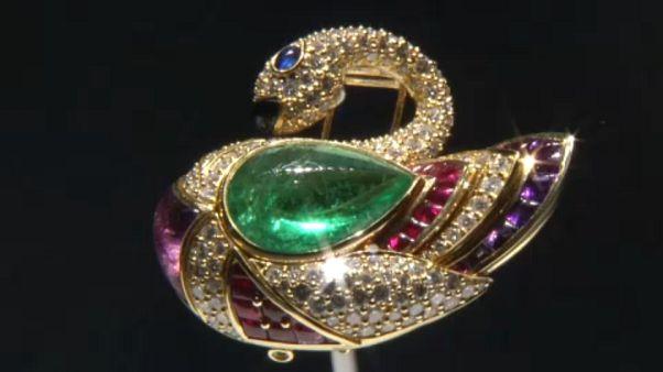 Italian luxury jeweler Bulgari opens sparkling exhibition in Rome