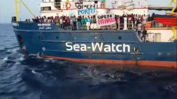 German rescue ship Sea-Watch 3 enters Italian waters, defying ban ...