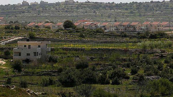 """مستوطنة """"كريات أربع"""" الإسرائيلية في مدينة الخليل في الضفة الغربية المحتلة"""