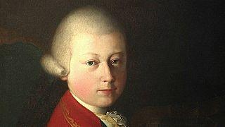Портрет юного Моцарта уйдет с молотка