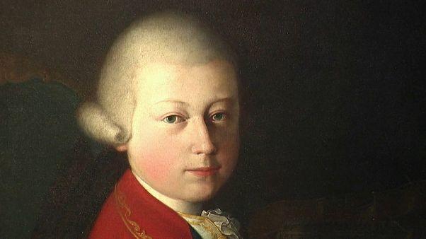 Σπάνιο πορτρέτο του Μότσαρτ σε νεαρή ηλικία βγαίνει στο σφυρί