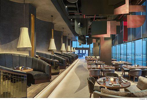 Akira Back restaurant at W Dubai – The Palm