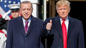 Watch live: Erdogan visits Trump after US-Turkey diplomatic tension