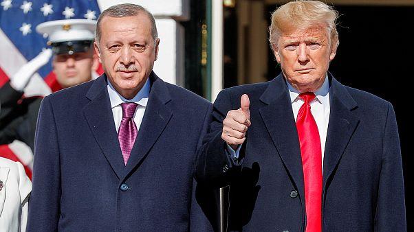الرئيسان الأميركي والتركي دونالد ترامب ورجب طيب إردوغان