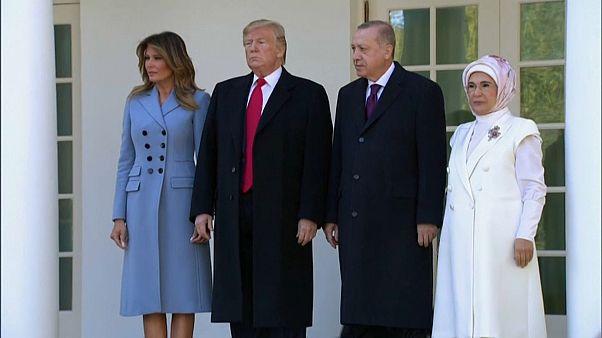 """Erdogan, """"un amico"""" alla Casa Bianca. I curdi: """"Ancora bombe turche"""""""
