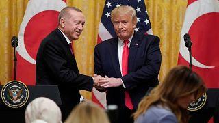 "Erdogan recebido pelo ""fã"" Donald Trump na Casa Branca"