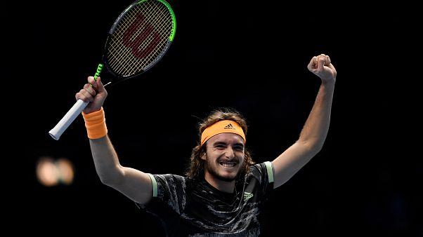 Στα ημιτελικά του ATP Finals ο Τσιτσιπάς