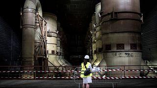 Fransa'da bir uranyum zenginleştirme tesisi