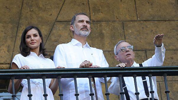 El rey Felipe VI pone un broche político a su polémica visita a Cuba