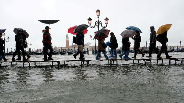 Hochwasser in Venedig: Frust über Politik