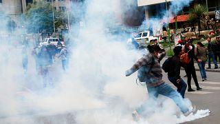 """Crisis en Bolivia: Morales afirma que su """"gran crimen es ser indígena"""""""