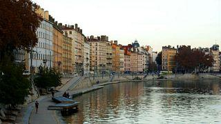 مشهد من مدينة ليون الفرنسية (أرشيف).