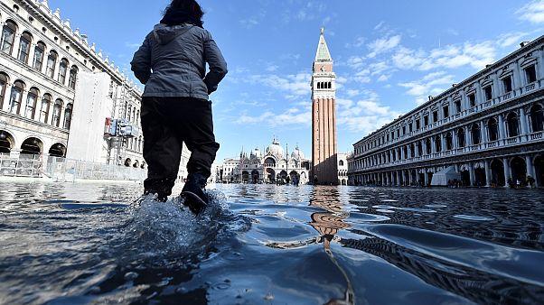 Venedig: Das Wasser geht, das Salz bleibt
