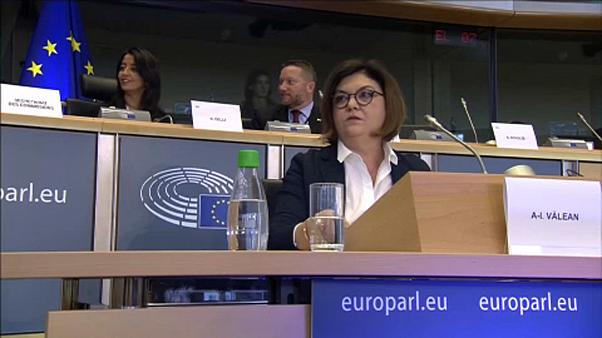 Romena Adina-Ioana Vălean passou na audição no PE