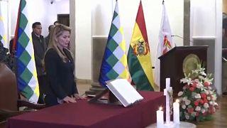 Washington elismerte Bolívia átmeneti elnökét
