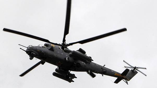 Mi-35 gunship