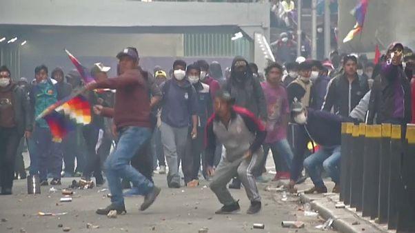 Bolivia, appello di Morales all'Onu e all'Ue