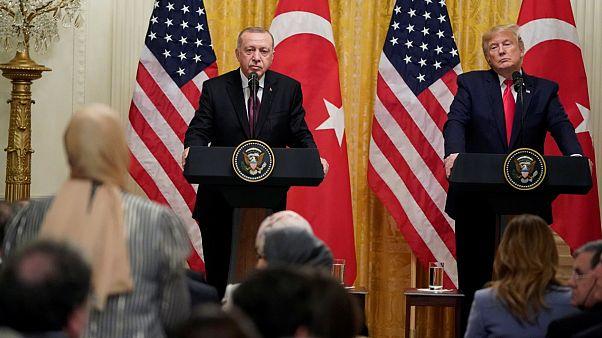 Trump - Erdoğan toplantısında öne çıkan soru ve cevaplar
