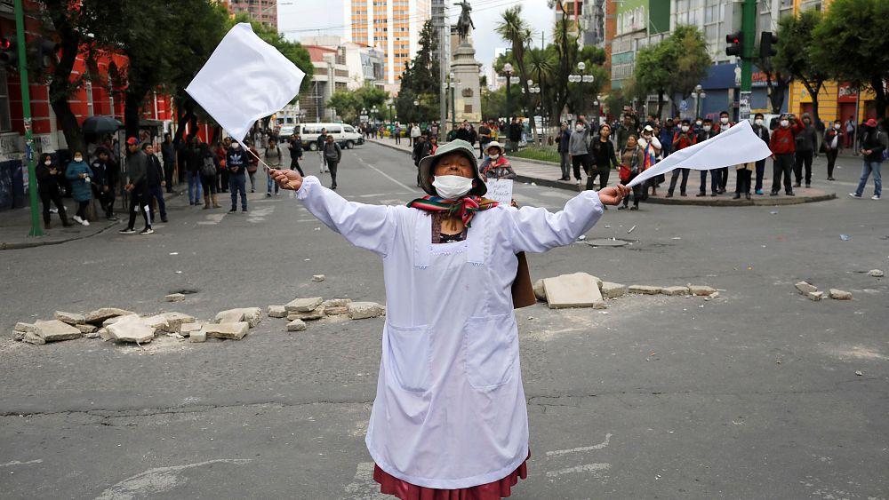 """Bolivien-Krise: """"Es ist ein Verbrechen, indigen zu sein"""" - Euronews"""