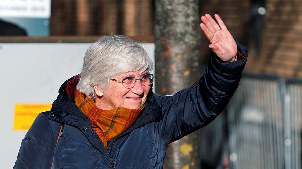 La Justicia británica deja a Clara Ponsatí en libertad bajo fianza