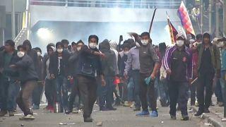 В Боливии не стихают протесты