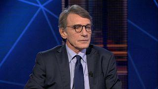 """رئيس البرلمان الأوروبي لـ""""يورونيوز"""": نحن بحاجة إلى سياسة موحّدة تجاه الهجرة"""