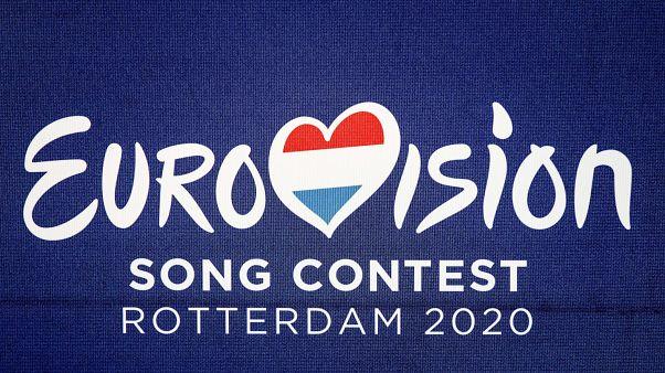 A 2020-as rotterdami Eurovíziós Dalfesztivál logója 2019. augusztus 30-án, a bejelentést követően