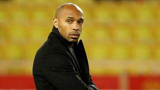 Thierry Henry, alors entraîneur de l'AS Monaco, le 1er décembre 2018.