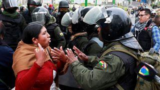 ادامه ناآرامیها در بولیوی؛ رئیس جمهور موقت انتصاب وزرا را آغاز کرد