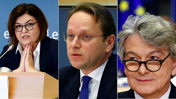 MEPs reject Hungary's pick for EU commissioner but approves those of France and Romania
