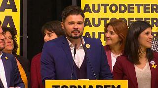 Esquerra Republicana mantiene su negativa para investir al socialista Pedro Sánchez