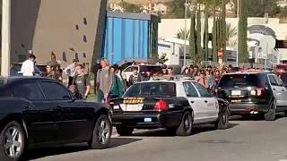 Two dead and three critically injured after US school shooting in Santa Clarita, California